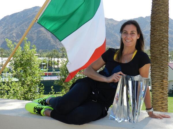 Флавия Пенета спечели най-престижната си титла (видео)