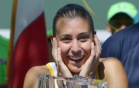 Азаренка поздрави Пенета за заслужената титла