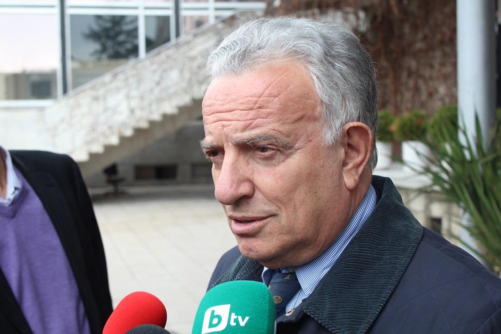Президентът на Международната федерация пристигна в София