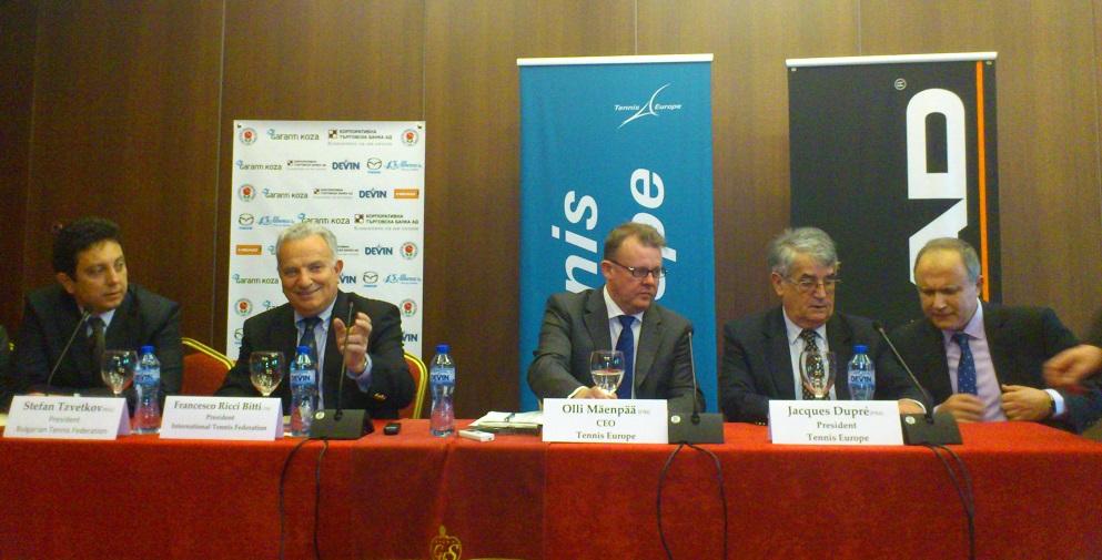 Жак Дюпре: Тенисистите от Балканите са наистина талантливи