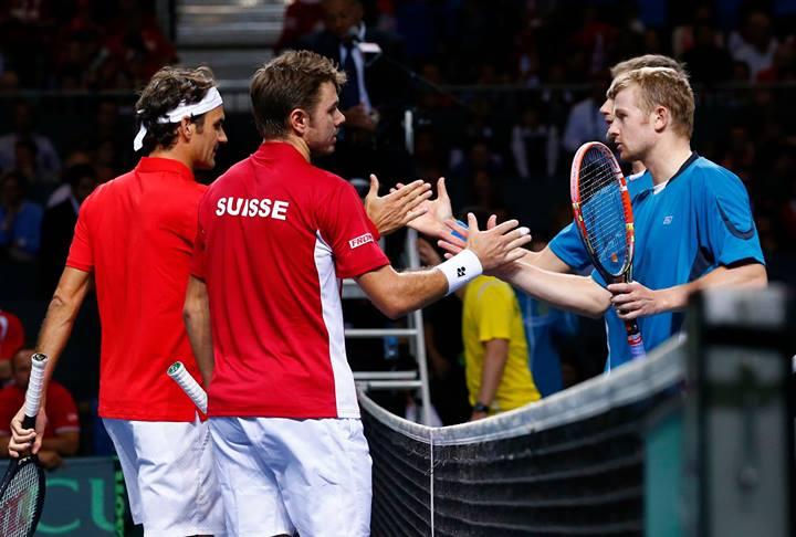 Казахстан изненадващо поведе с 2:1 на Швейцария в Женева