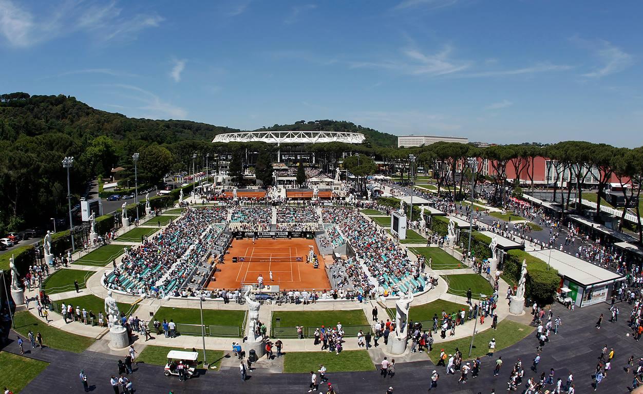 Пълна програма на турнира в Рим за понеделник