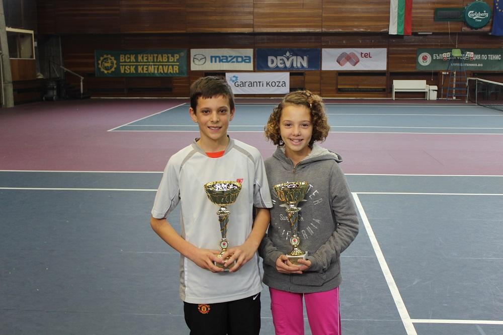 Симеон Терзиев и Елена Тренчева на четвъртфинал в Сърбия