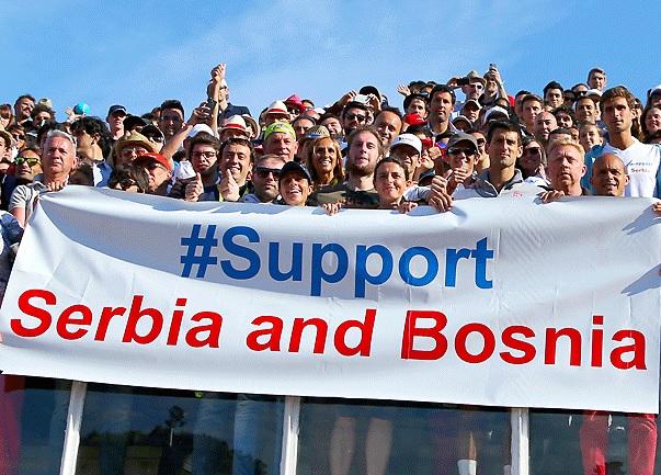 Джокович дарява €549,000 на бедстващите в Сърбия и Босна