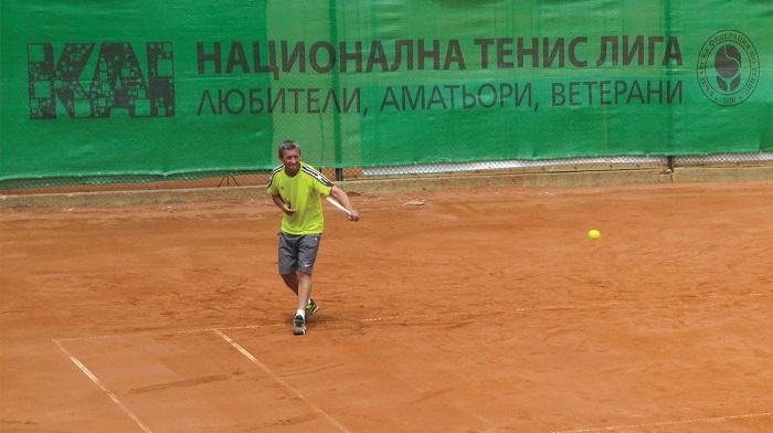 КАИ НТЛ провежда Държавно по тенис за ветерани на 24 и 25 май