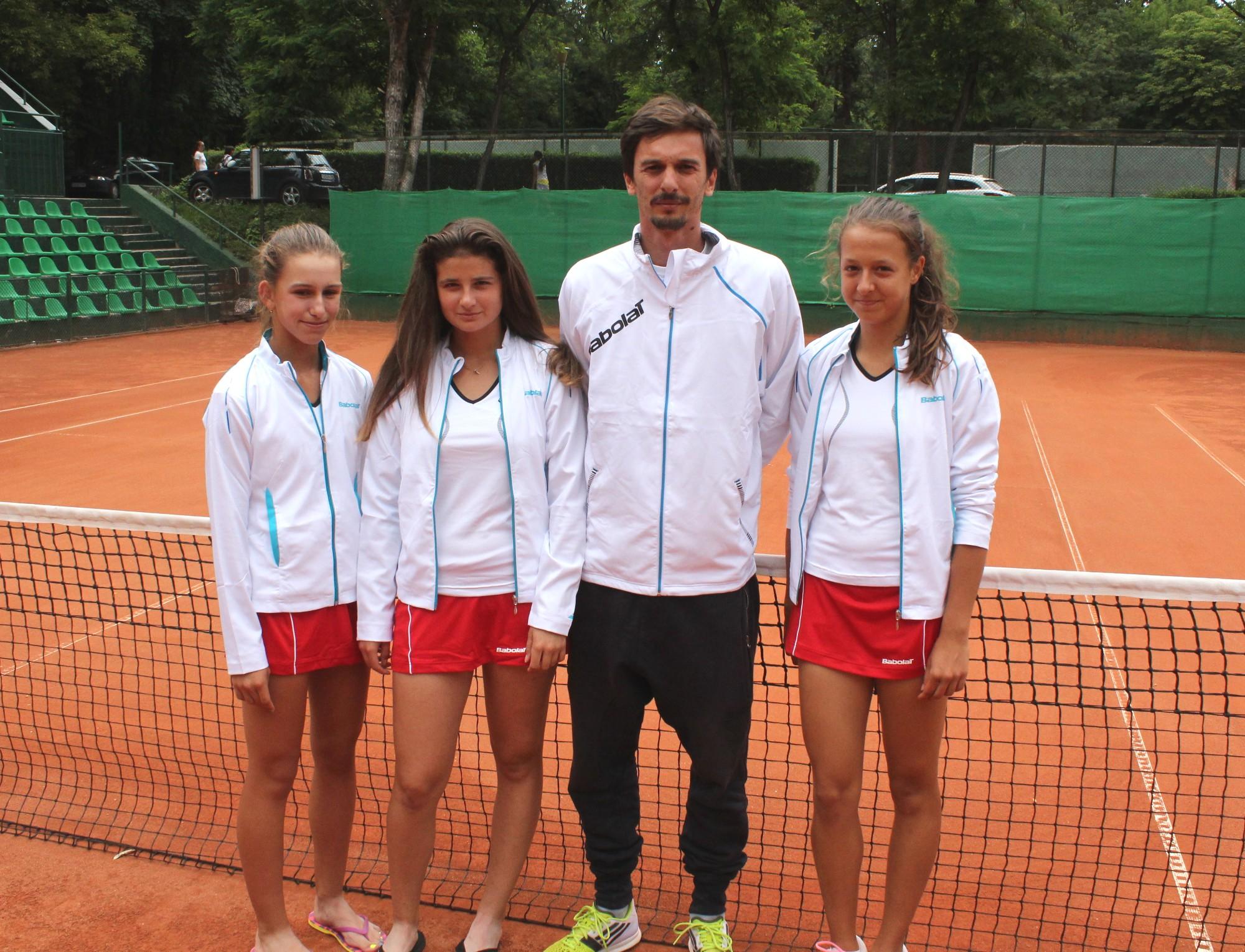 Националните отбори до 14 години заминават за европейски първенства