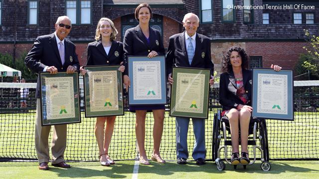 Линдзи Дейвънпорт бе приета в Залата на тенис славата