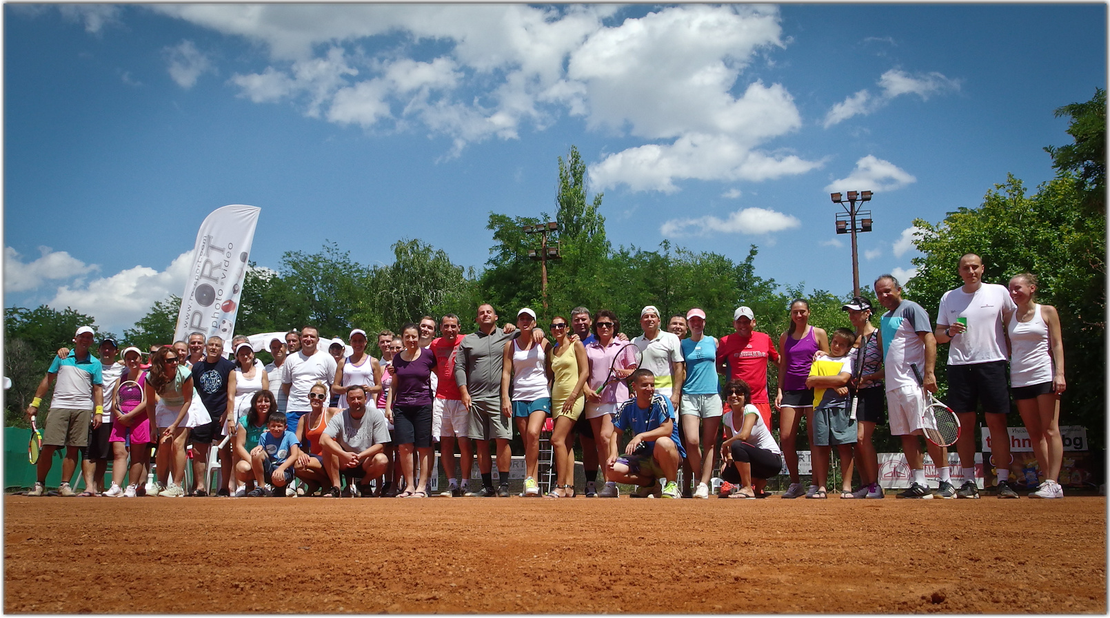 Ямбол прие осмия турнир от календара на Amateur Tennis Bulgaria