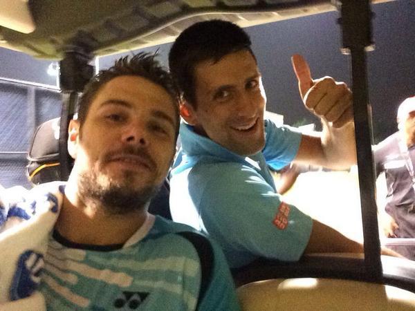 Джокович и Вавринка с победа на двойки в Торонто