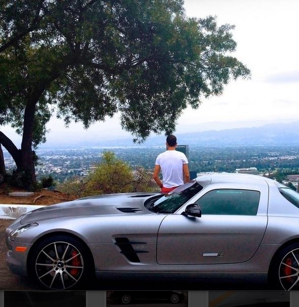 Гришо тества нов модел на Mercedes (снимки)