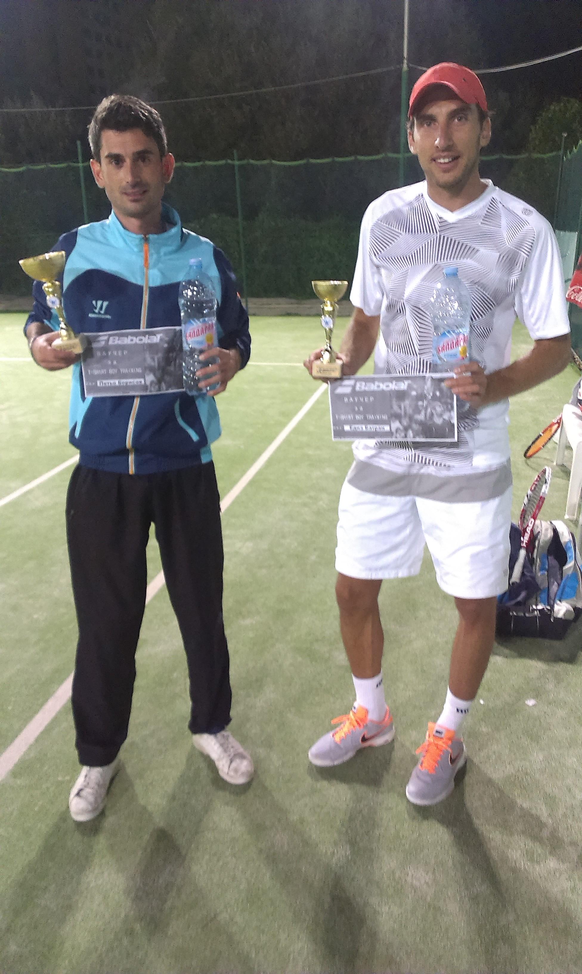 Петьо Борисов с първа титла от любителската ITL лига