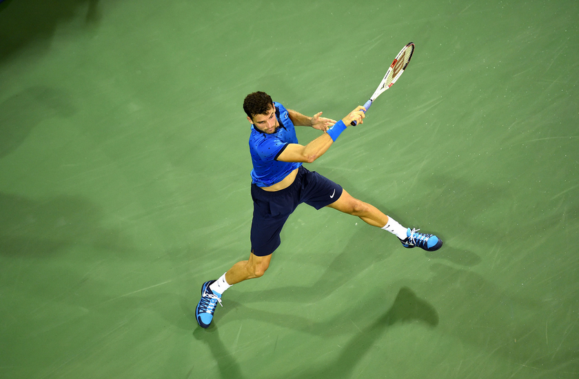Григор Димитров срещу испанец за място на четвъртфинал