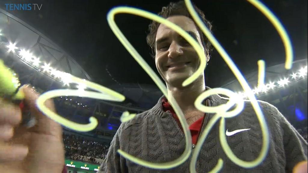 Федерер е №1 през 2014-а по победи над топ 10 играчи