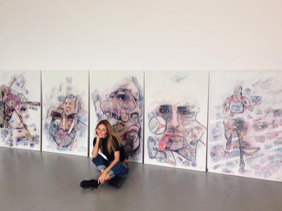 Гришо посети арт галерия в София (снимки)