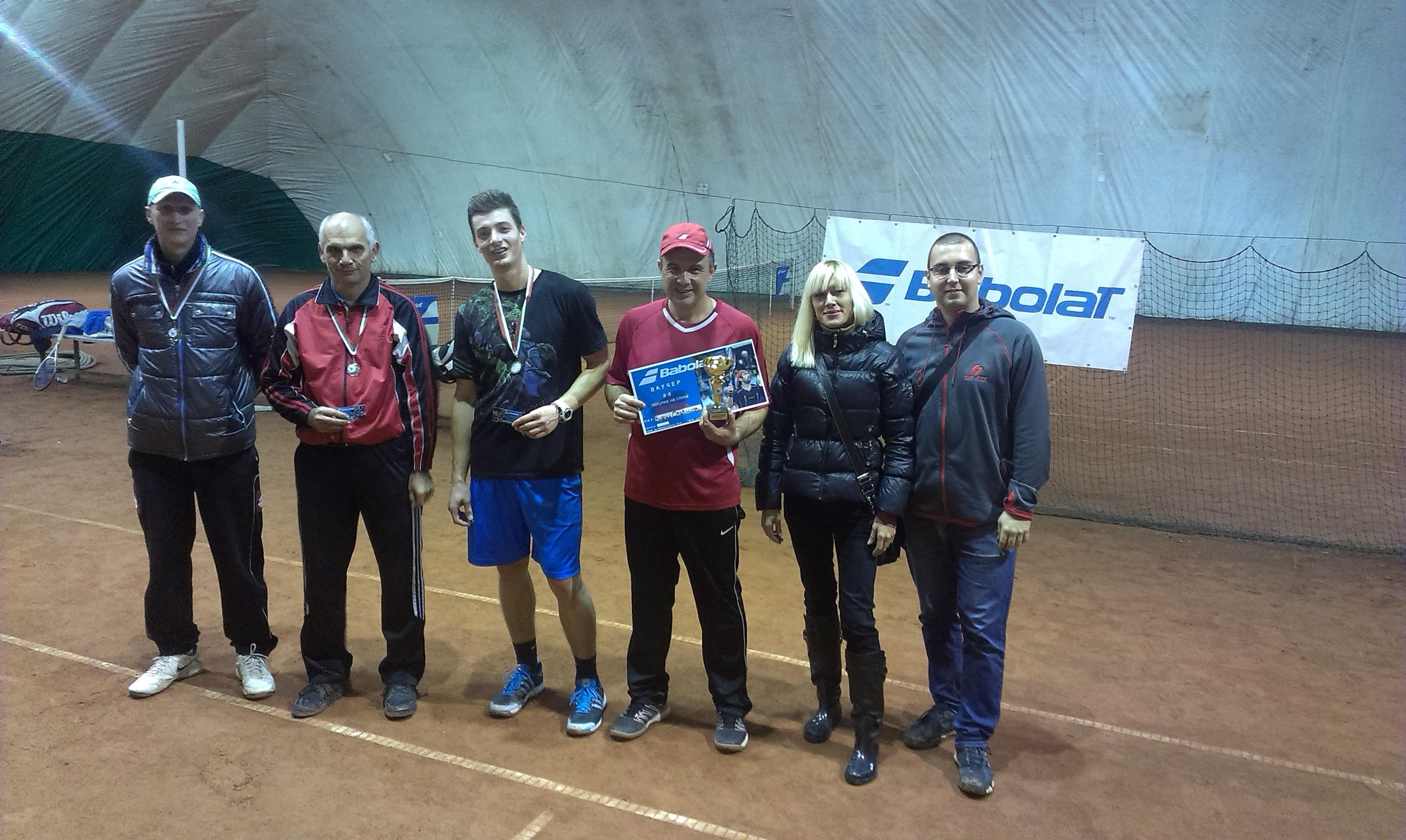 Интерактивна тенис лига откри сезон 2015