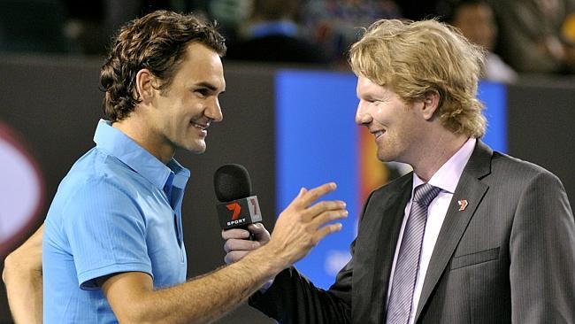 Къриър: Тенисът на Федерер е като балет