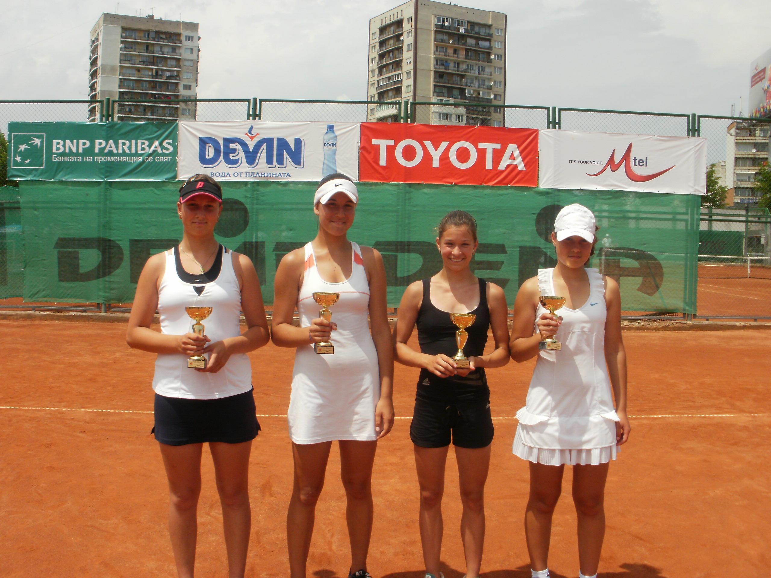Алауи - Донев и Терзийска - Златанова са финалистите на държавното
