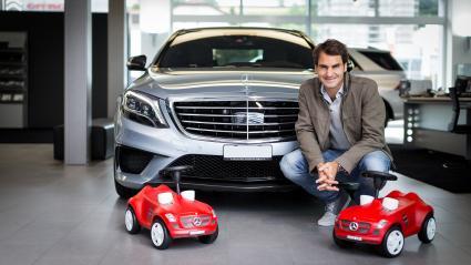 Федерер ще продължи да бъде лице на Mercedes-Benz