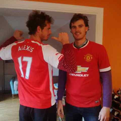 Анди Мъри получи за подарък фланелка на Арсенал