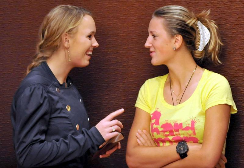 Вожняцки и Азаренка плакали заедно след разделите