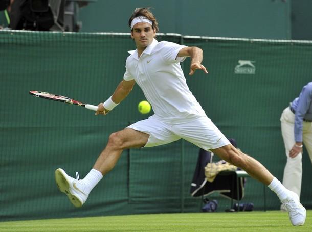 ВИДЕО: Уникална точка за Федерер в първия мач на Уимбълдън