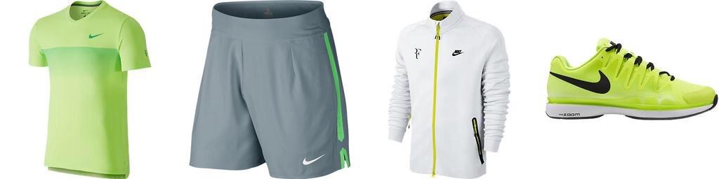 Екипировката на Федерер за Australian Open
