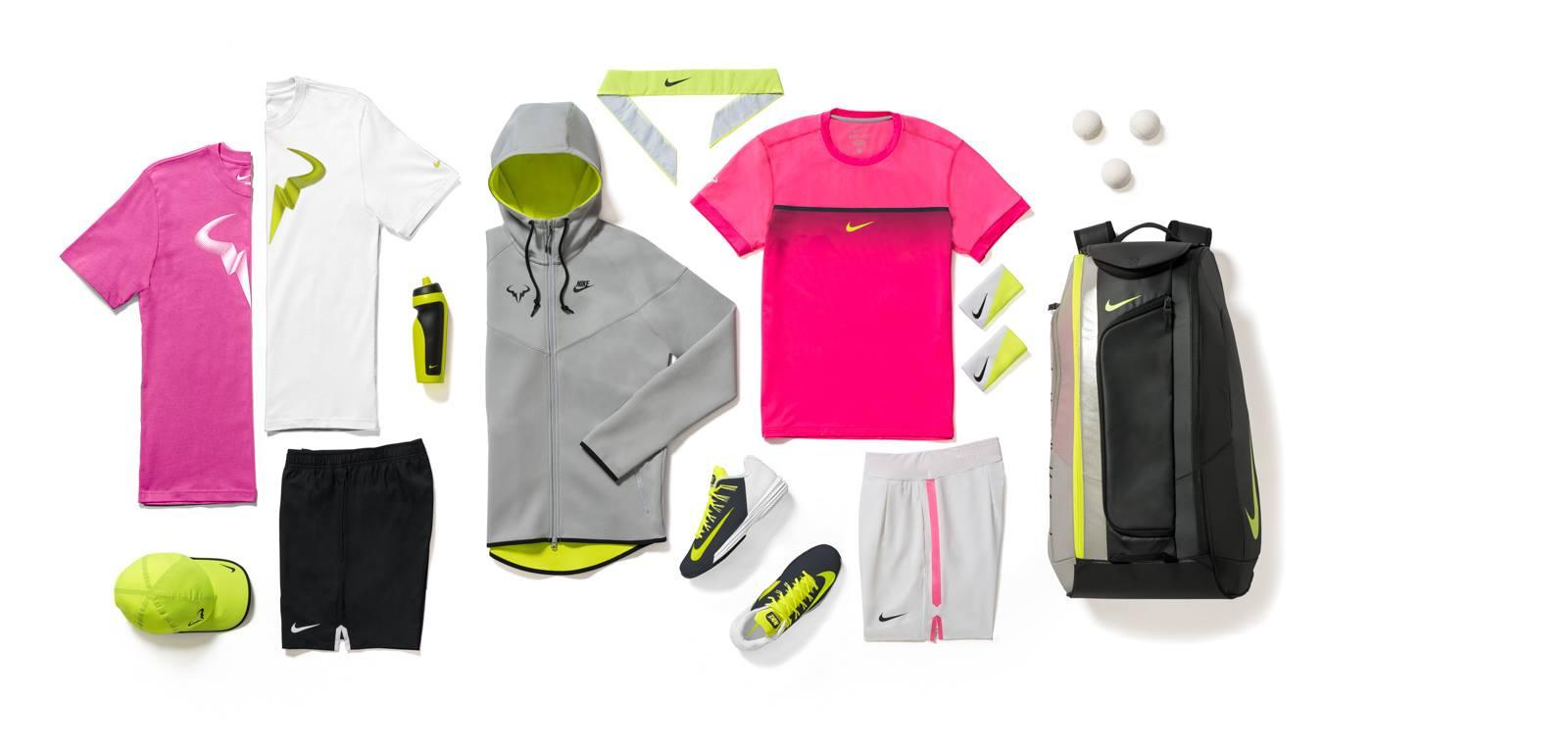 Nike показа пълната екипировка на Рафа за Мелбърн