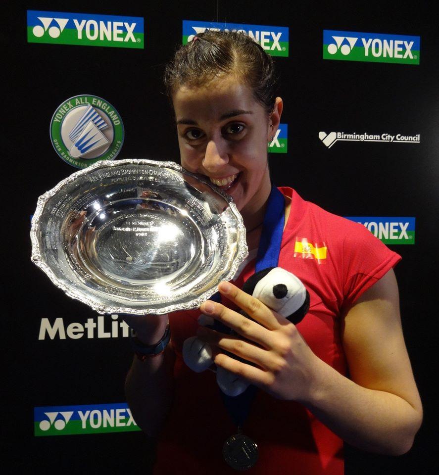 Световната шампионка Марин спечели титлата в Англия