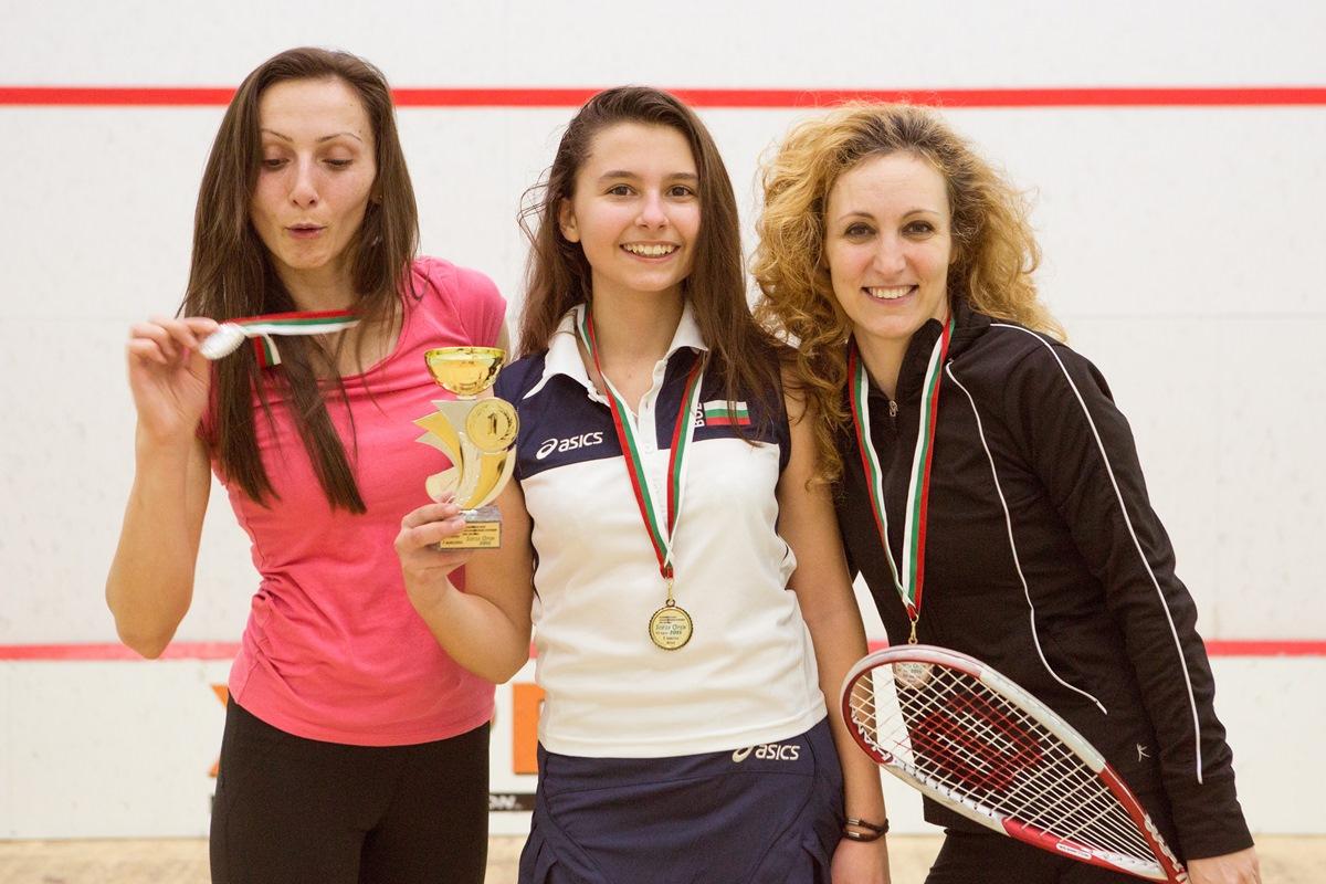 13-годишна спечели националния скуош турнир при жените