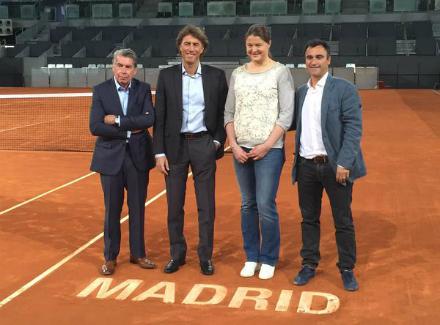 Динара Сафина посланик на турнира в Мадрид