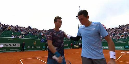 Томаш Бердих е първият полуфиналист в Монте Карло
