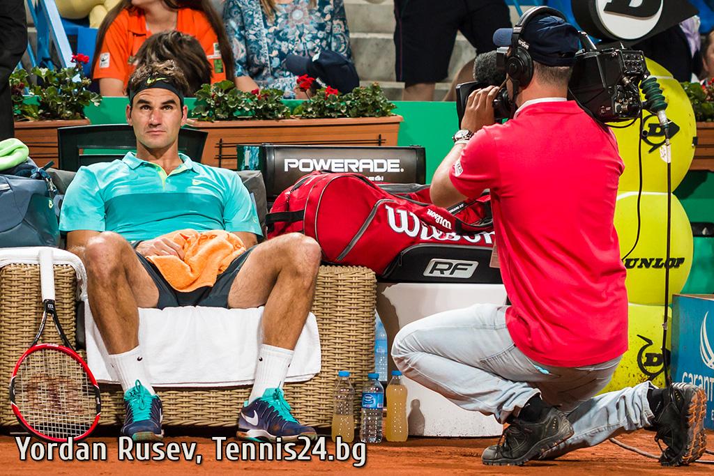 Гледайте НА ЖИВО: Федерер срещу Химено-Травер