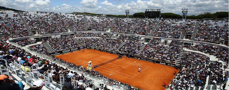 Пълна програма за турнира в Рим за понеделник