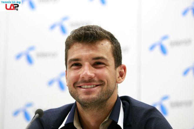 Григор Димитров с високи цели за турнира в Рим