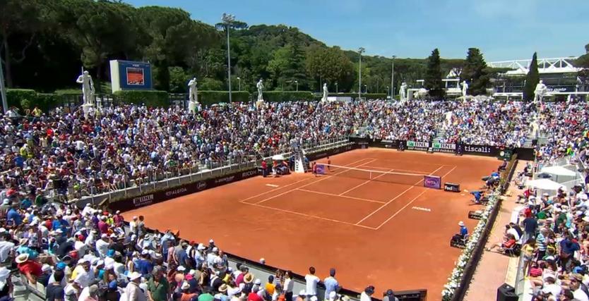 Програма за турнира в Рим за четвъртък