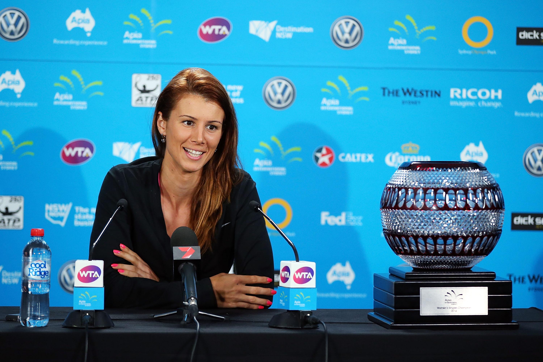 Цвети чества 10 години в турнирите на WTA