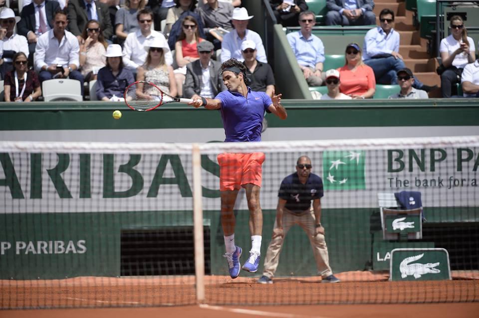 "Федерер взе 64-а победа на ""Ролан Гарос"""