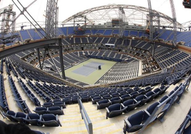 Централният корт на US Open с подвижен покрив, но...