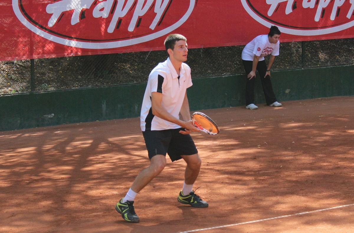 Александър Лазов на финал в Стара Загора
