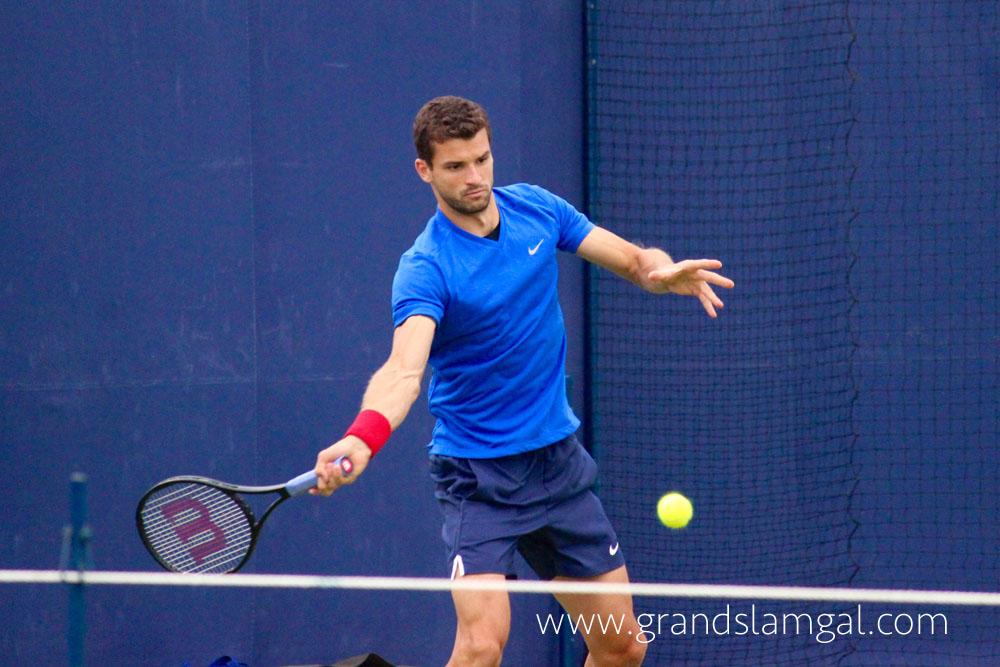 Григор Димитров отново в игра в сряда