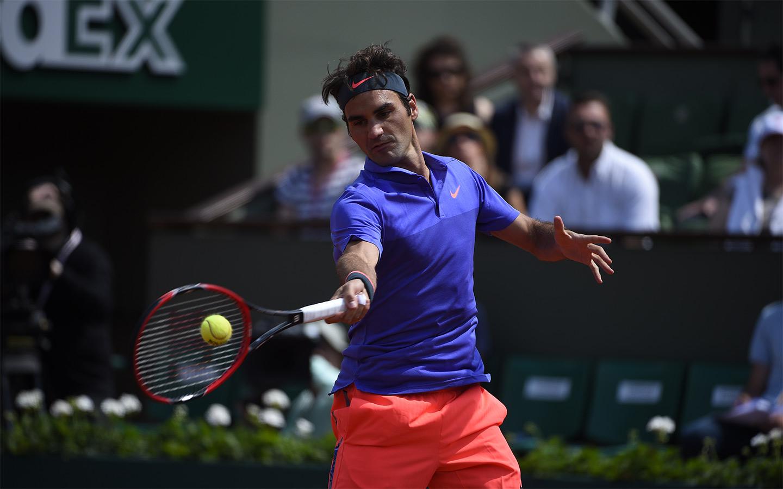 Роджър Федерер на четвъртфинал в Хале