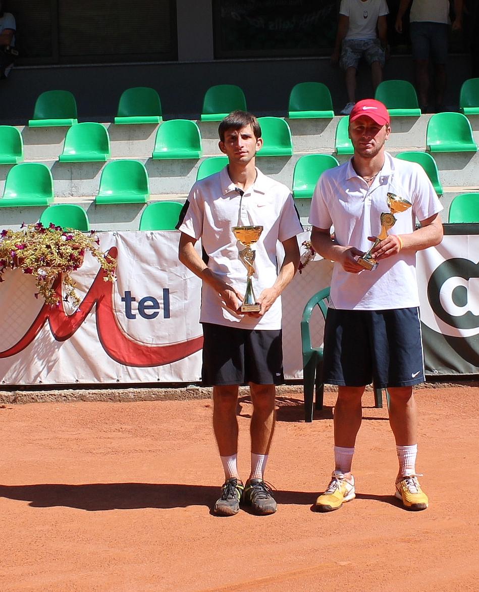 Грозданов и Лазов с втора титла на двойки