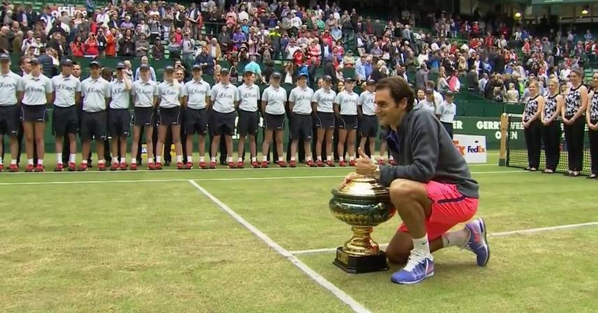 Федерер спечели дежурната си титла в Хале