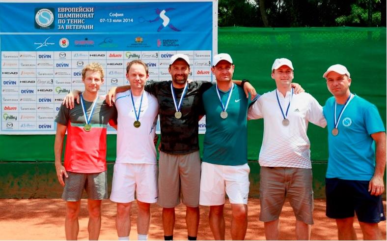 Европейското първенство за ветерани започва утре в София