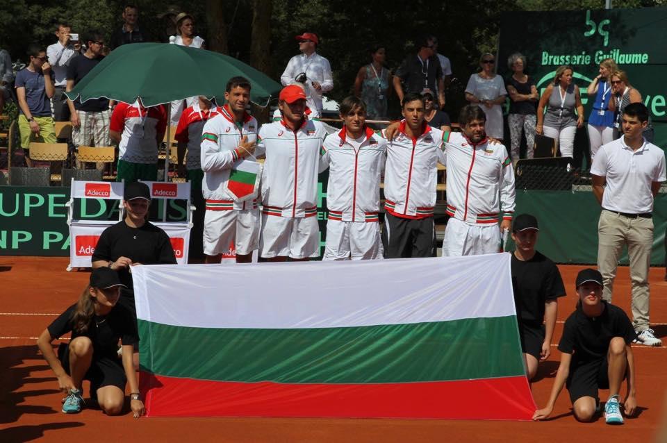 """България ще играе за място в Първа група на Купа """"Дейвис"""""""