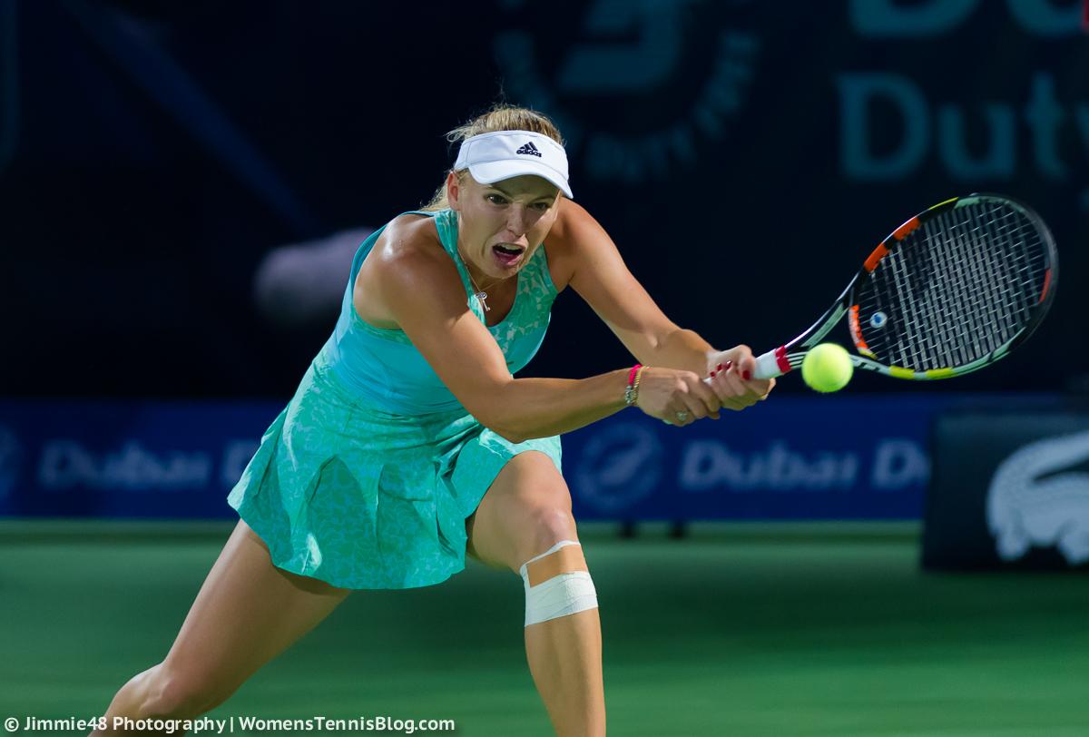 Вожняцки възстана срещу WTA