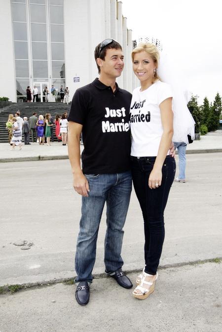 Альона Бондаренко се омъжи за треньора си