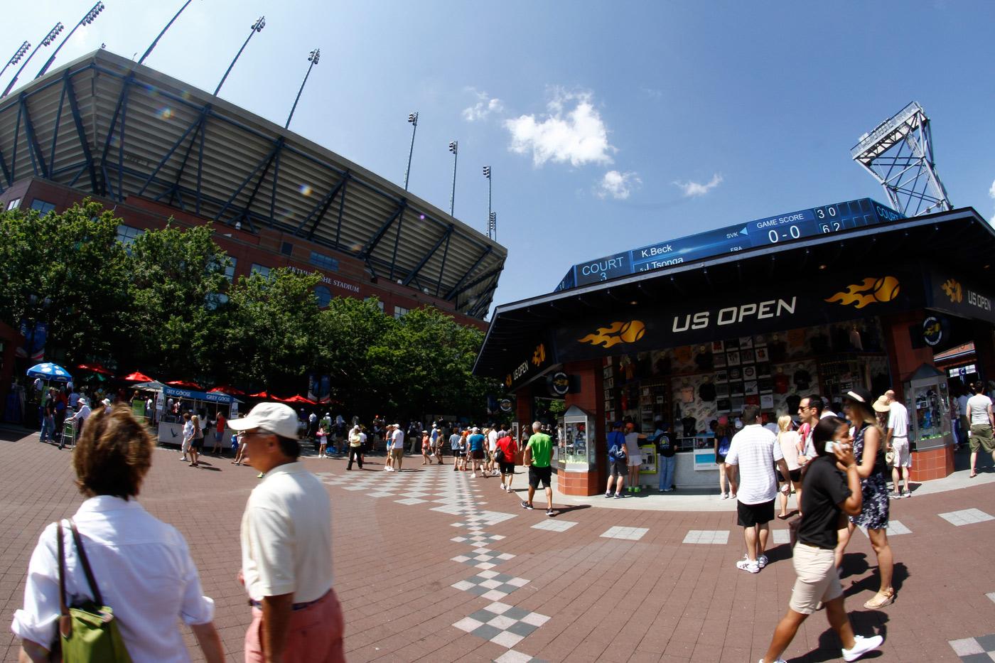 Програма за US Open, ден I
