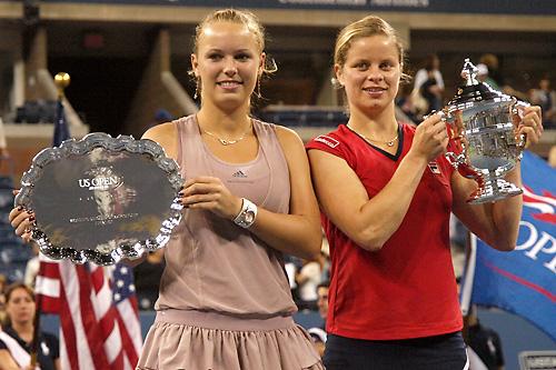 Вожняцки и Клайстерс №1 и 2 - вижте всички поставени на US Open