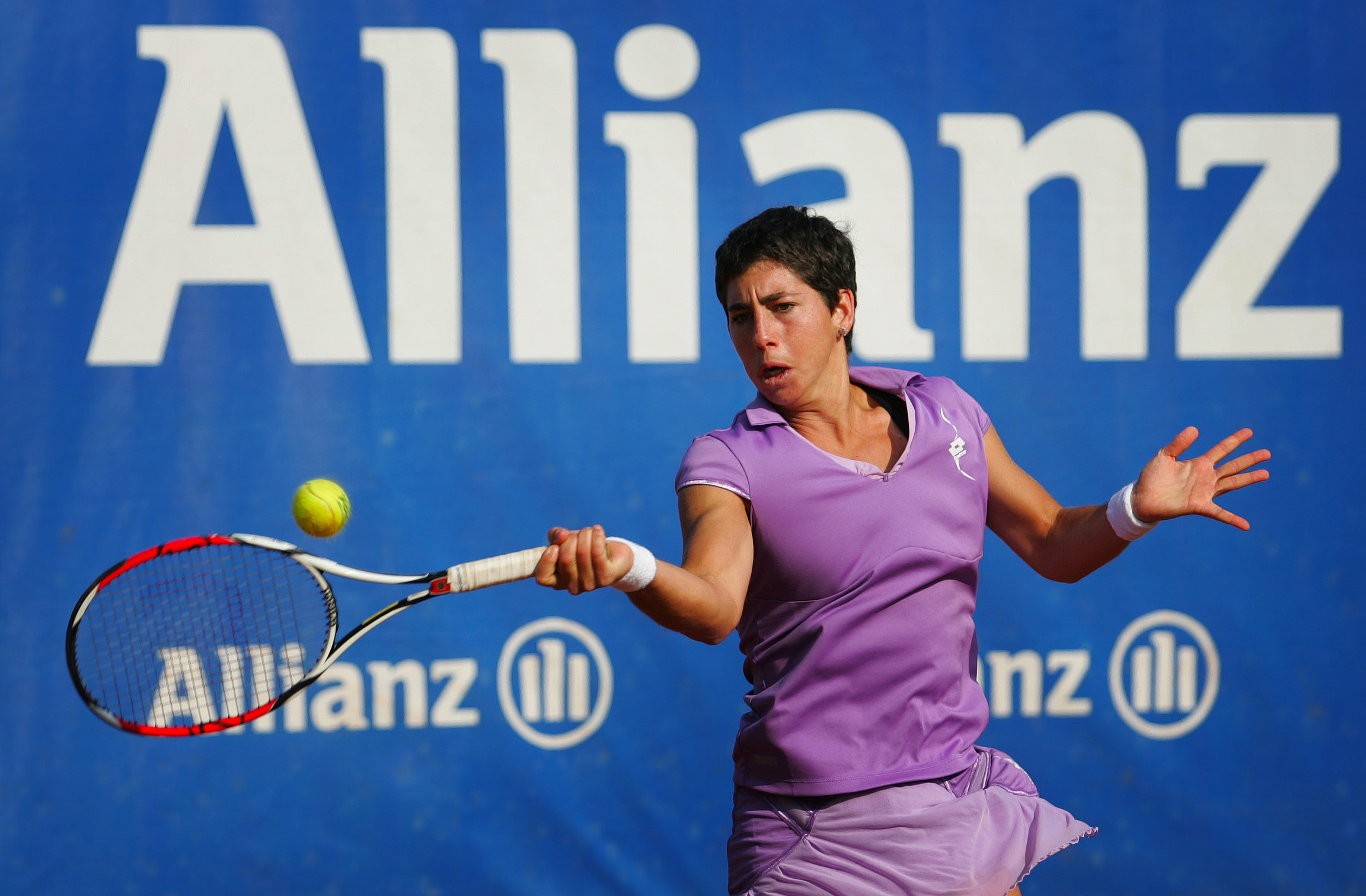 Карла Суарес Наваро тръгна с победа